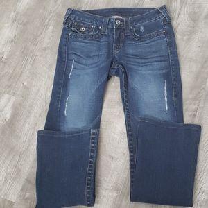 True Religion Disco Betty Big T jeans size 27